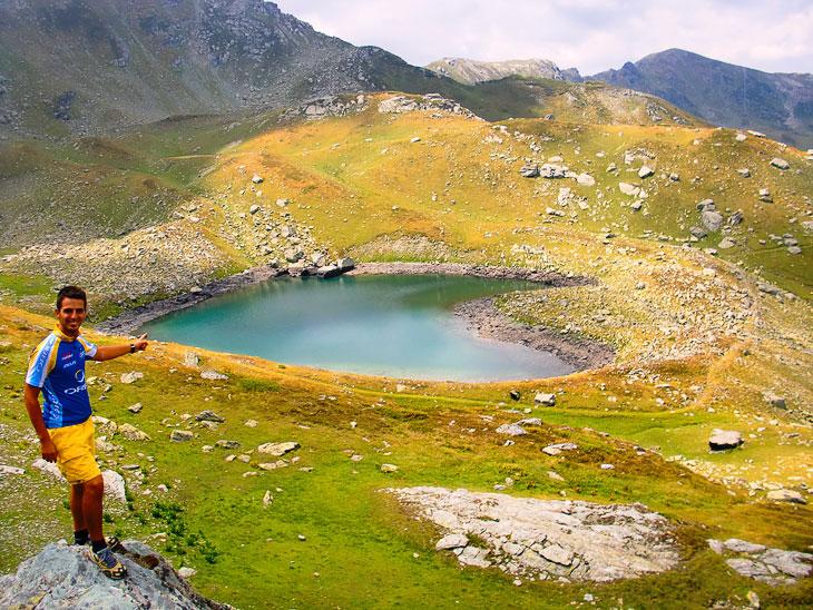 Озеро-сердце в Северо-Албанских Альпах, Косово