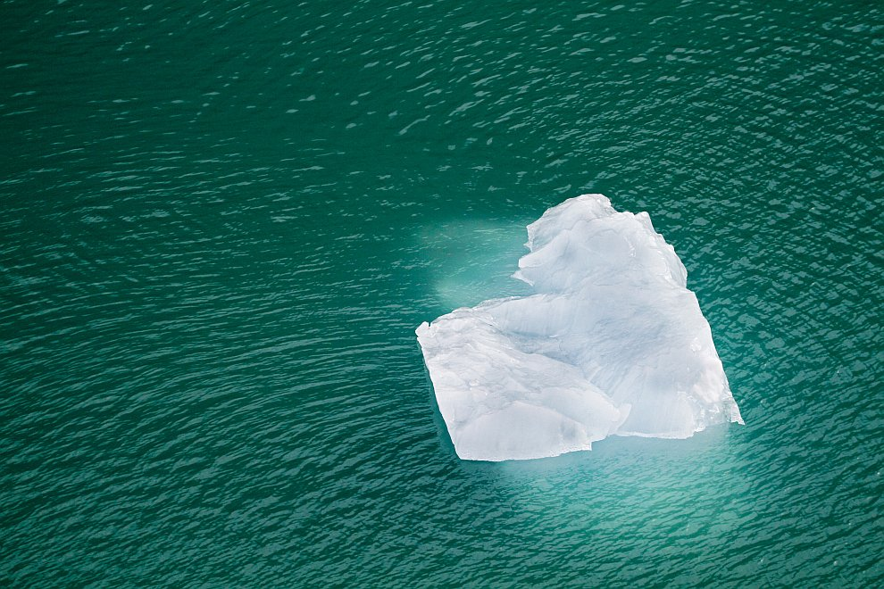 Сердце природы: айсберг