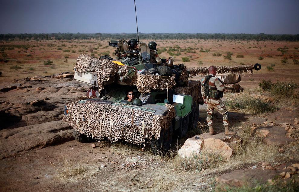 Французские военные на боевом посту