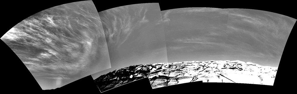 Облака в марсианском небе