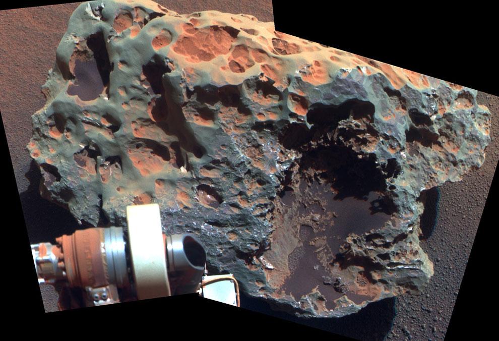 Block Island — самый большой метеорит, когда-либо найденный на Марсе