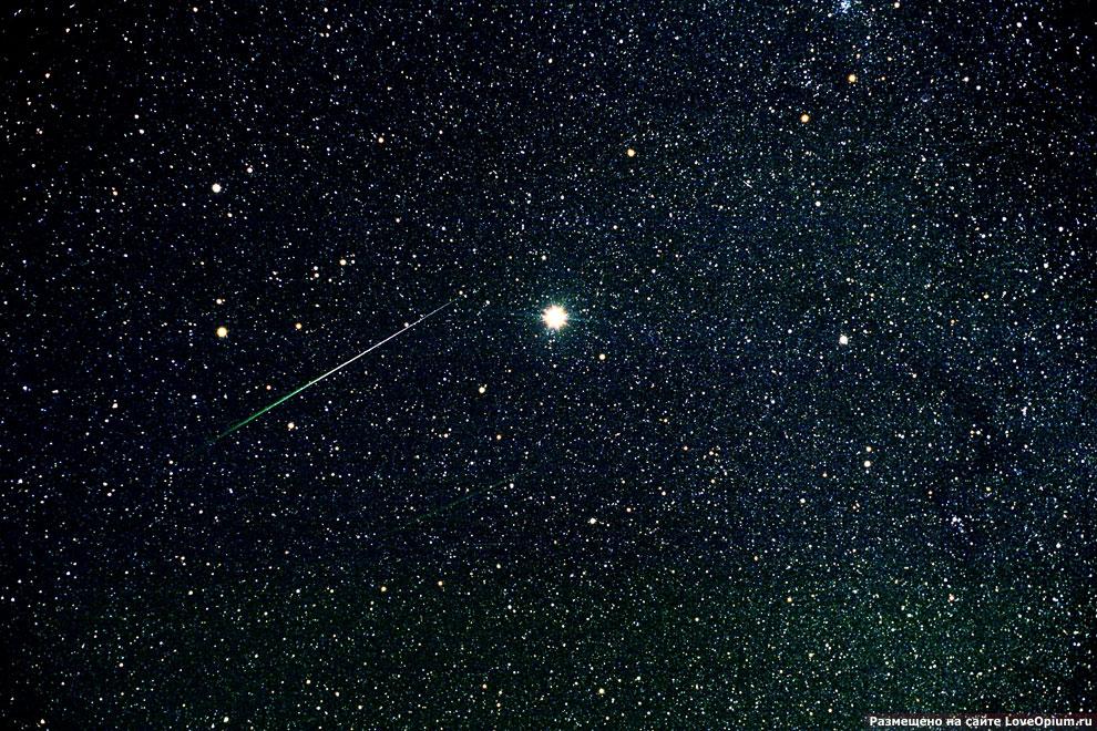 Метеорный поток Леониды, 19 ноября 2001 года