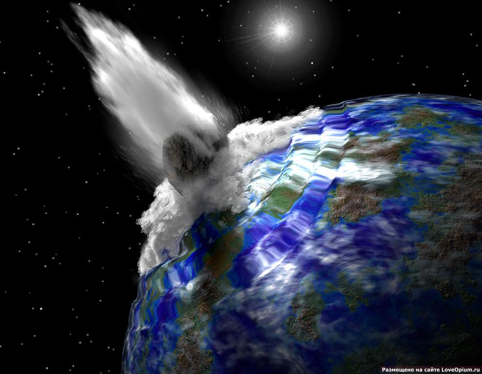 Ежедневно около 20 метеоритных потоков проходят рядом с Землей