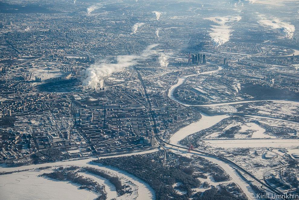 Ходынское поле и часть Ленинградского шоссе