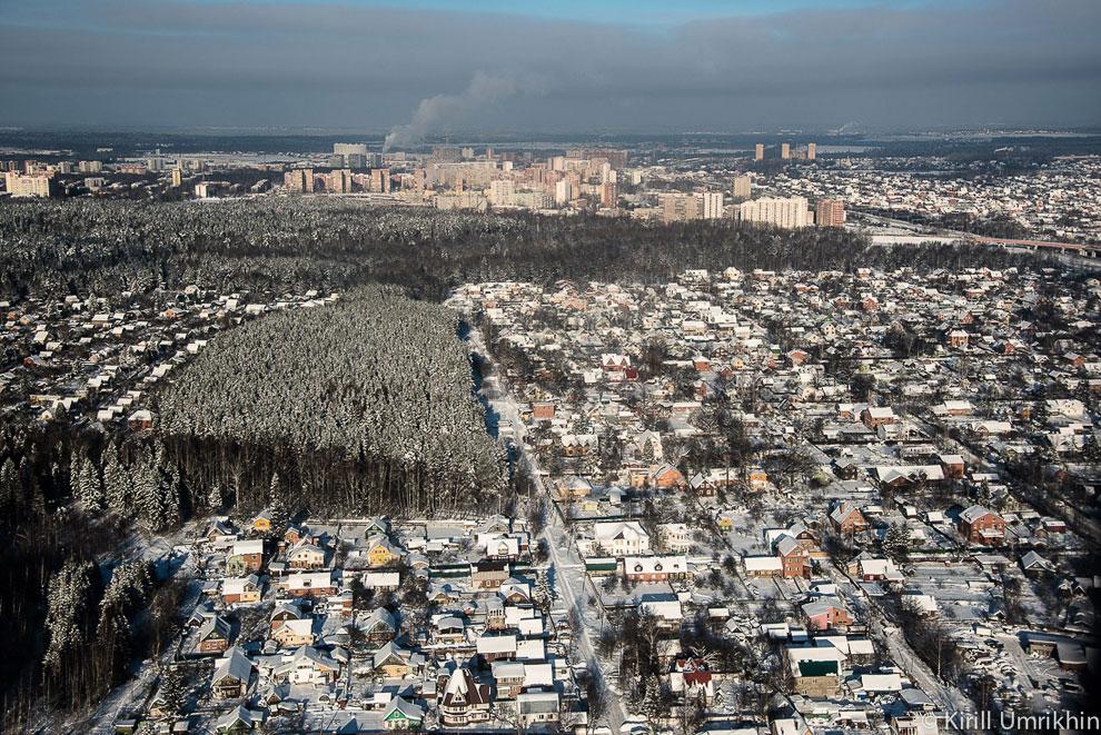 Подмосковье около аэропорта Шереметьево