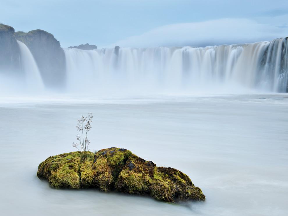 Водопад Годафосс, Исландия