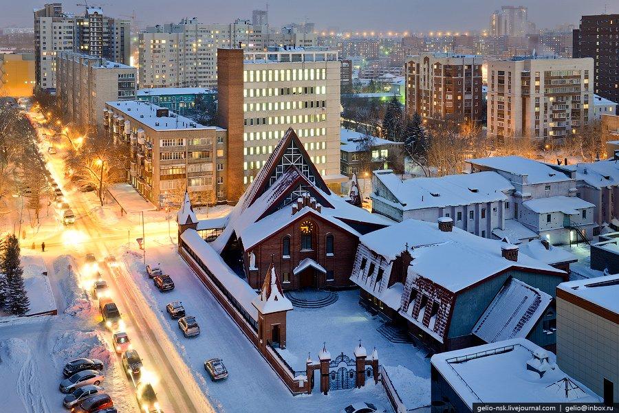 Кафедральный собор Преображения Господня в Новосибирске