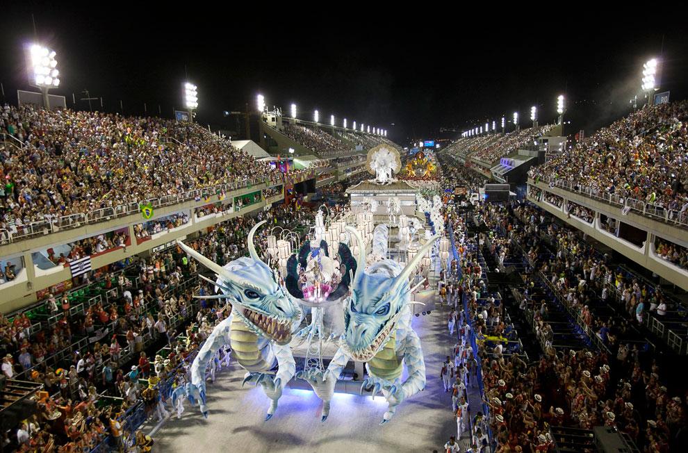 Самбадром — самое главное место в Рио-де-Жанейро