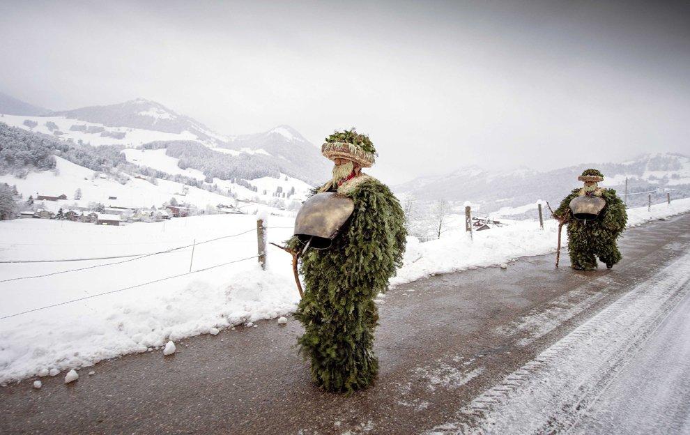 Деды Морозы по-швейцарски