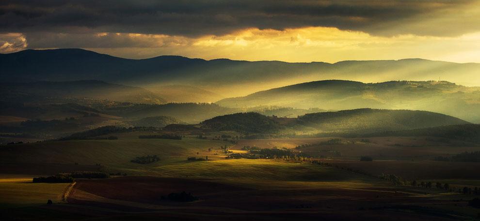 Долина у города Клодзко, Польша