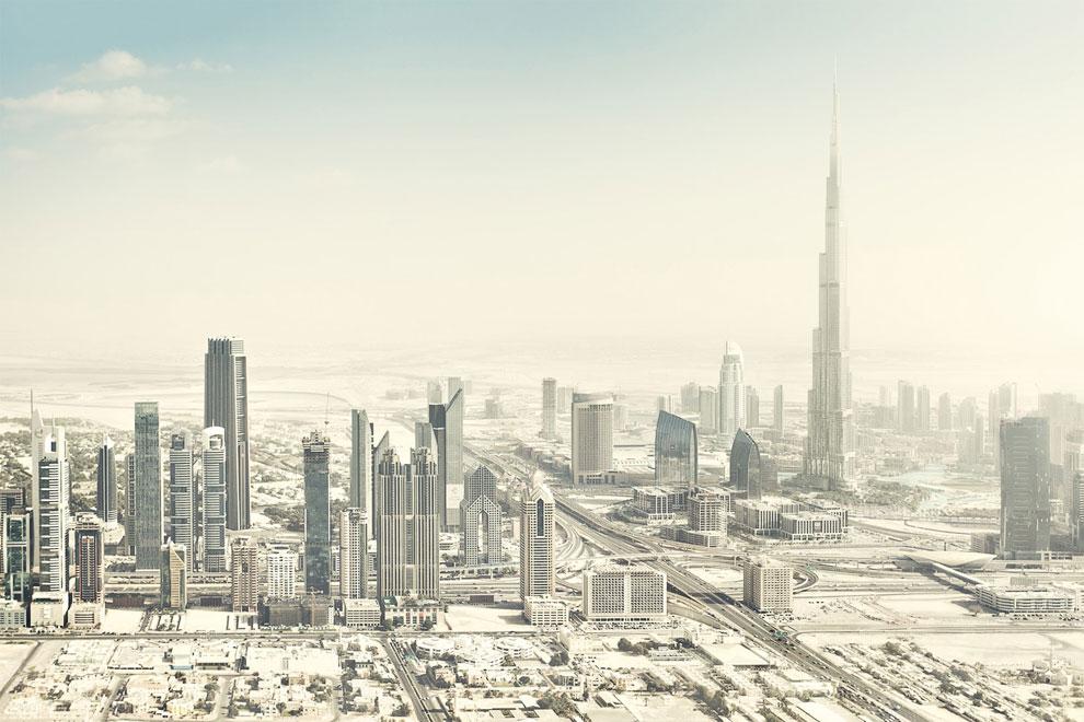 Дубаи с высоты