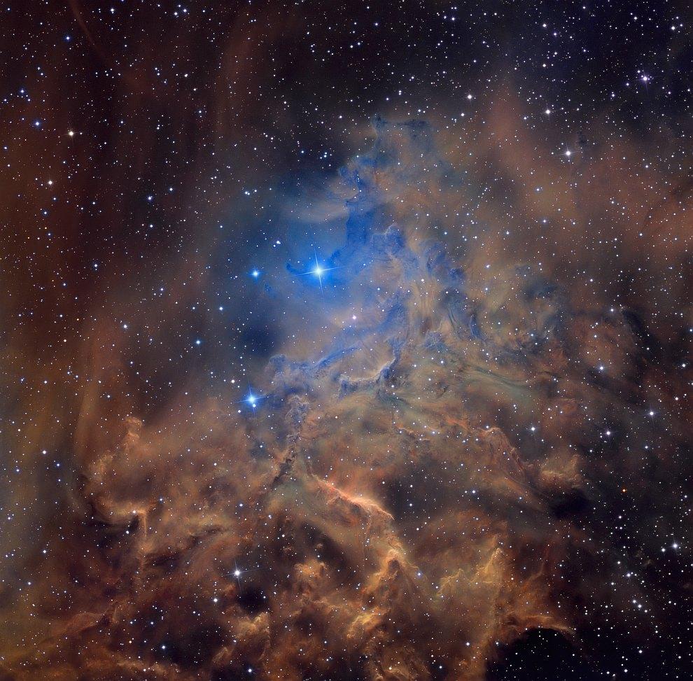 Пылающая звезда