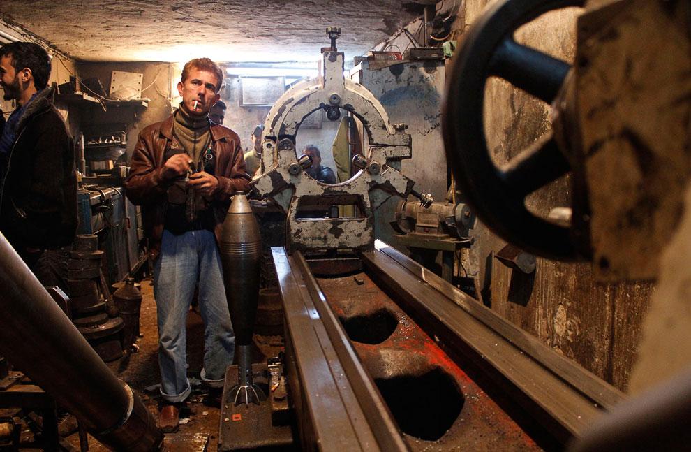 Главный технолог на «заводе» по производству снарядов для миномета
