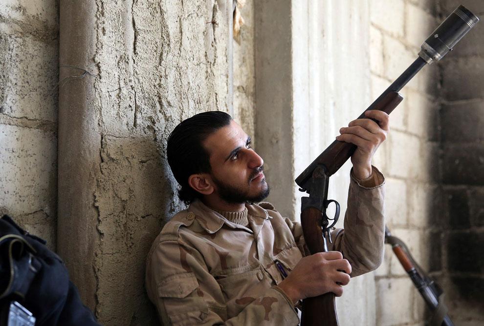 Ружье, переделанное под стрельбу самодельными гранатами