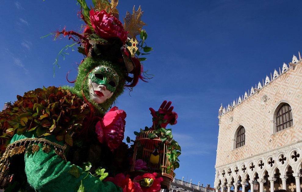 Карнавал в Венеции 2013
