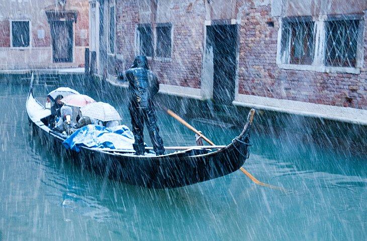 Снежная Венеция