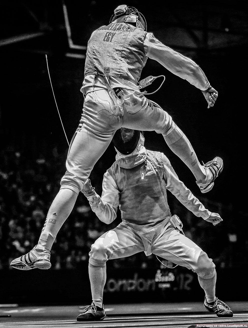 Фехтовальщики на Олимпиаде в Лондоне