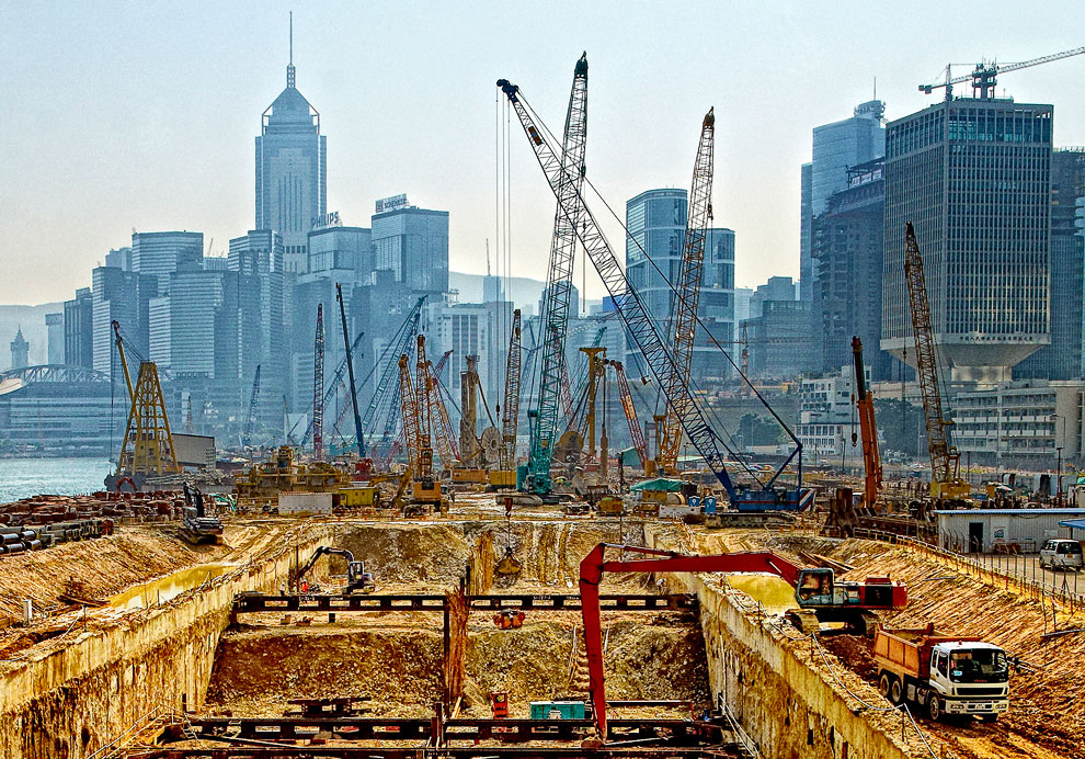 Бесконечное строительство в Азии, Кон Конг