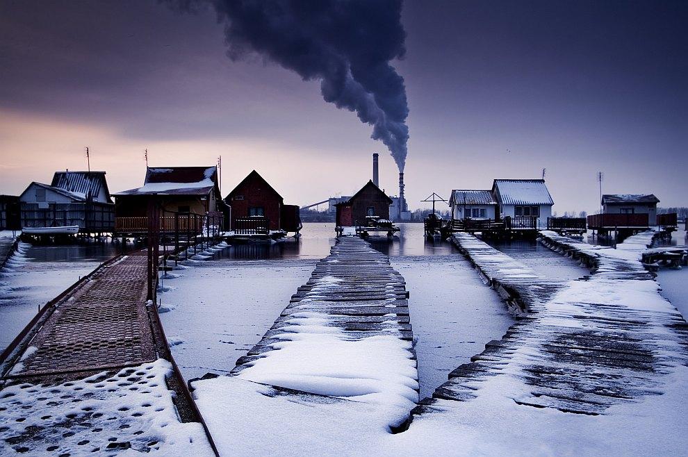 Этот снимок был сделан недалеко от города Орослань, Венгрия