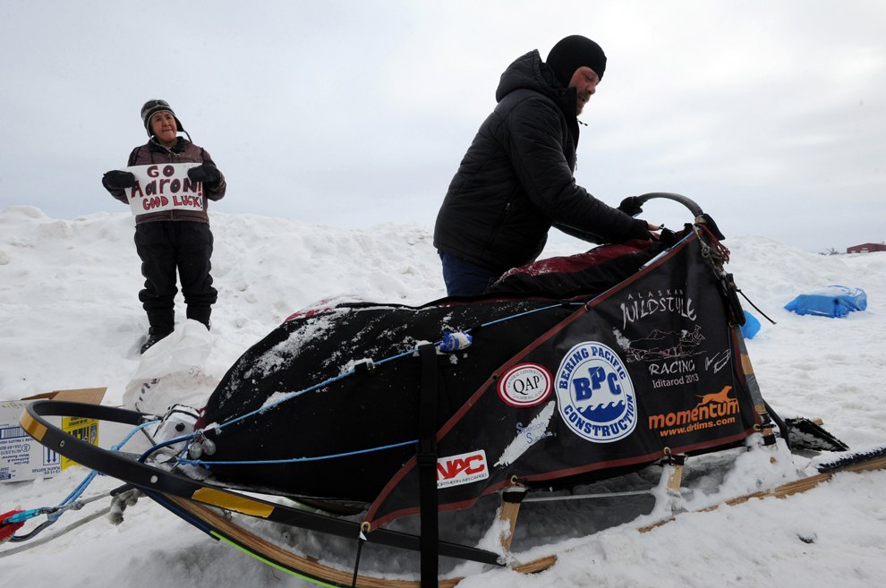 Iditarod Trail Sled Dog Race