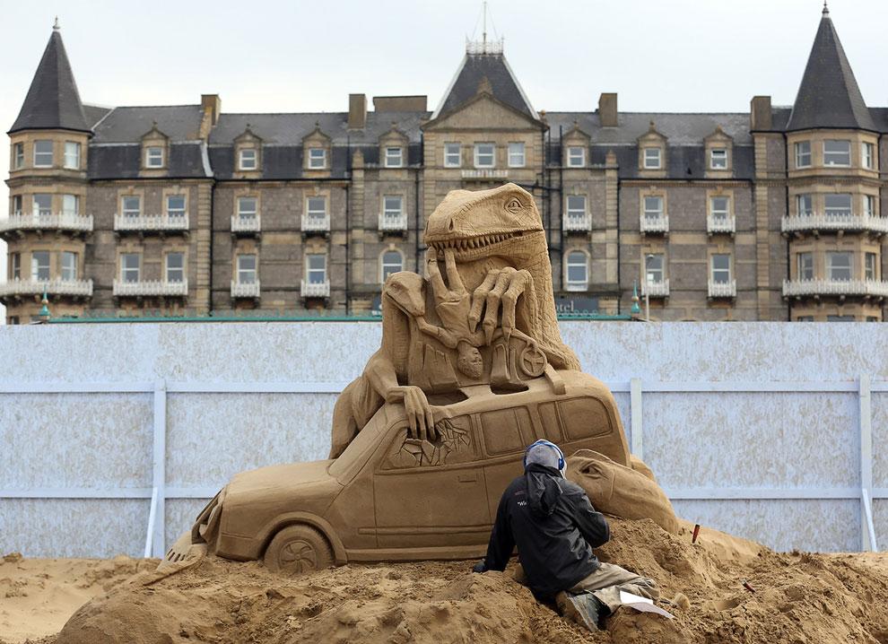 Песчаная композиция «Парк Юрского периода»