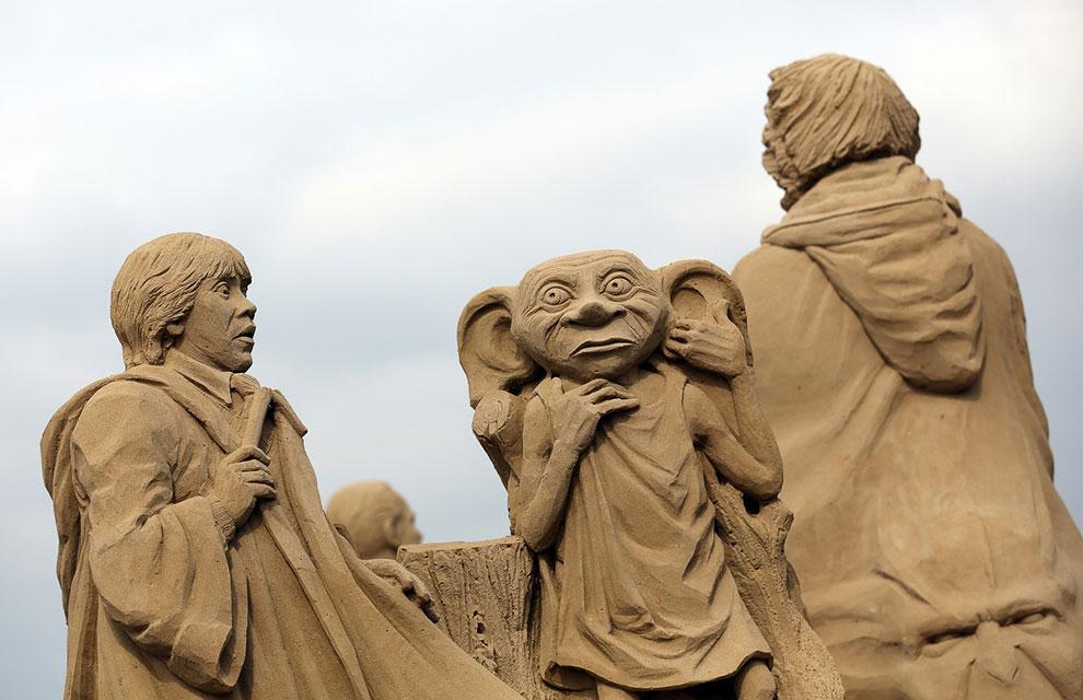 Песчаная композиция из «Гарри Поттера»