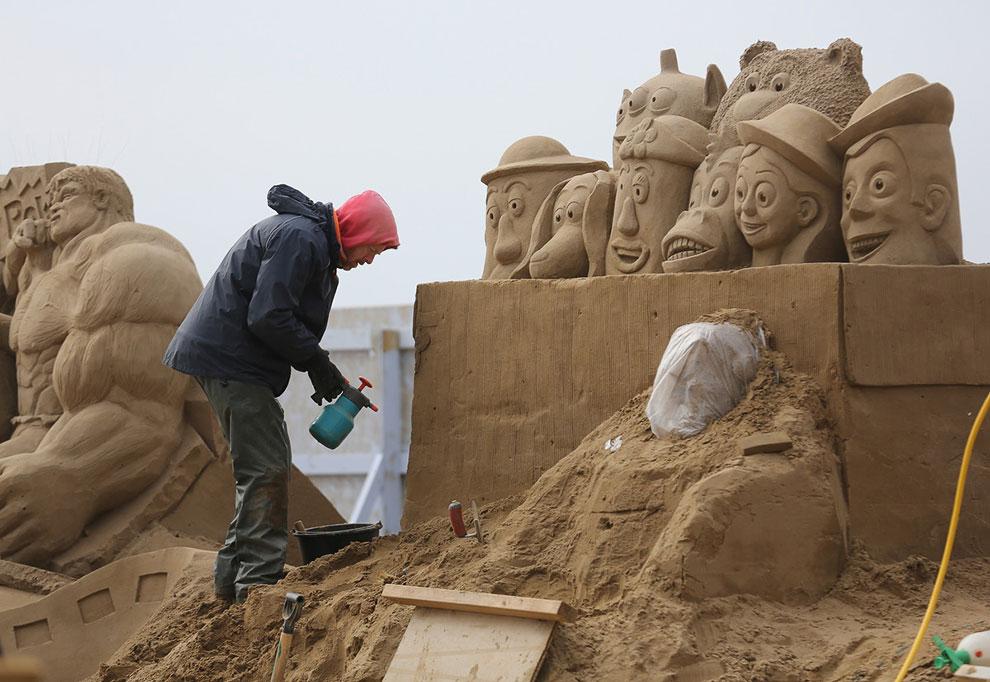 Песчаная композиция «История игрушек»