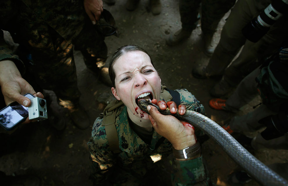 В джунглях Таиланда прошли тренировки по выживанию в рамках учений Cobra Gold 2013