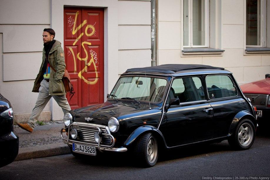 Проулка по Берлину