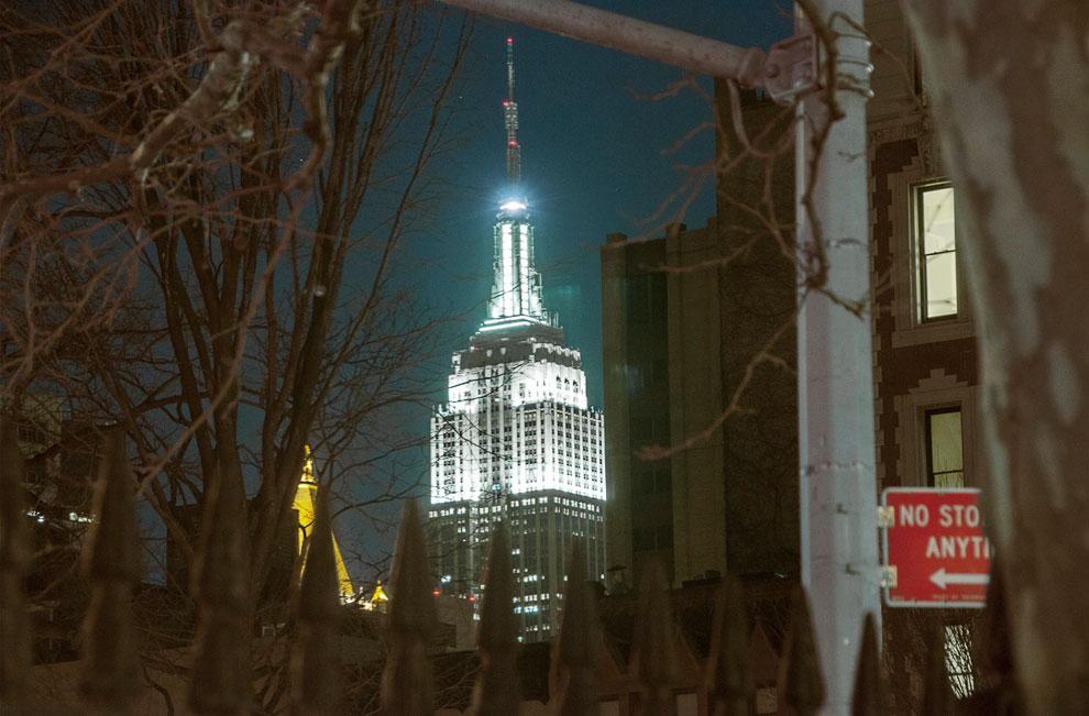 Эмпайр Стейт Билдинг в Нью-Йорке