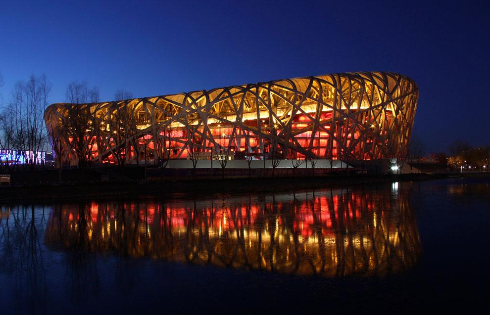 Китайский национальный стадион «Птичье гнездо»