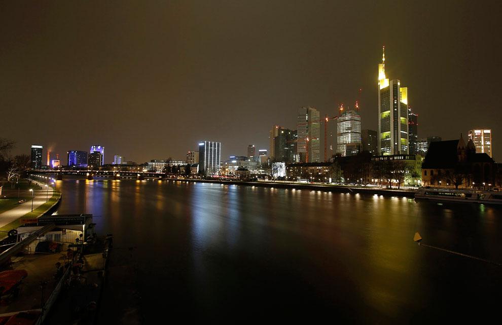 Франкфурт-на-Майне — крупнейший город земли Гессен и пятый по величине в Германии