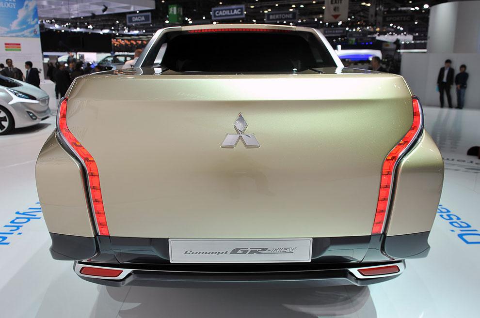 Концепт пикап Mitsubishi GR-HEV