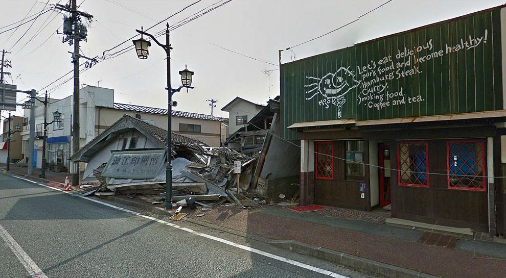 Здание справа — бывший ресторанчик