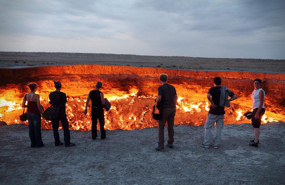 Врата ада. Туркменистан
