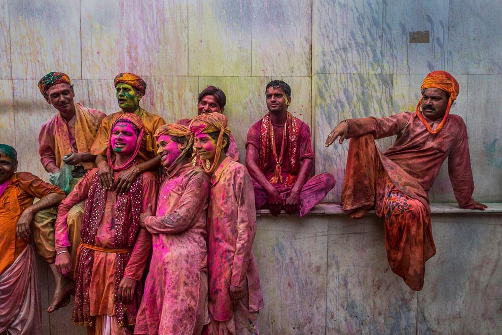 Холи 2013 — фестиваль весны и ярких красок