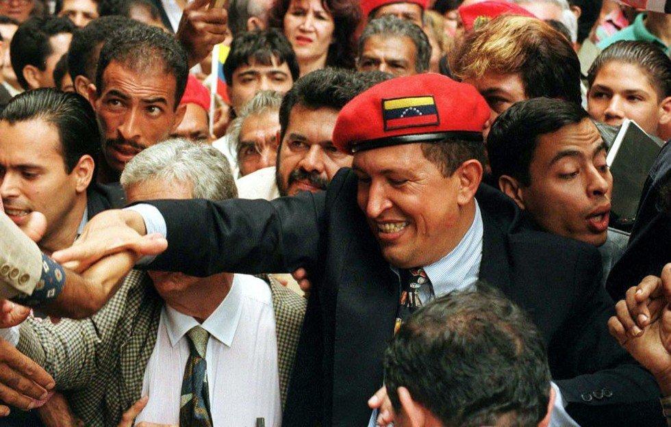 Июль 1997. Первая президентская кампания Уго Чавеса