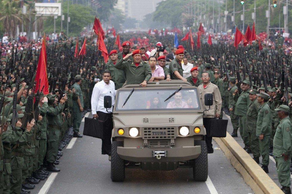 Отмечание 8-й годовщины возвращения во власть Уго Чавеса после путча 2002 года