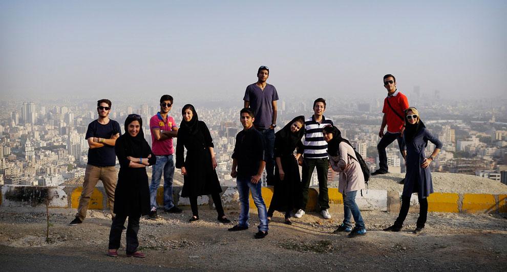 На холме над Тегераном