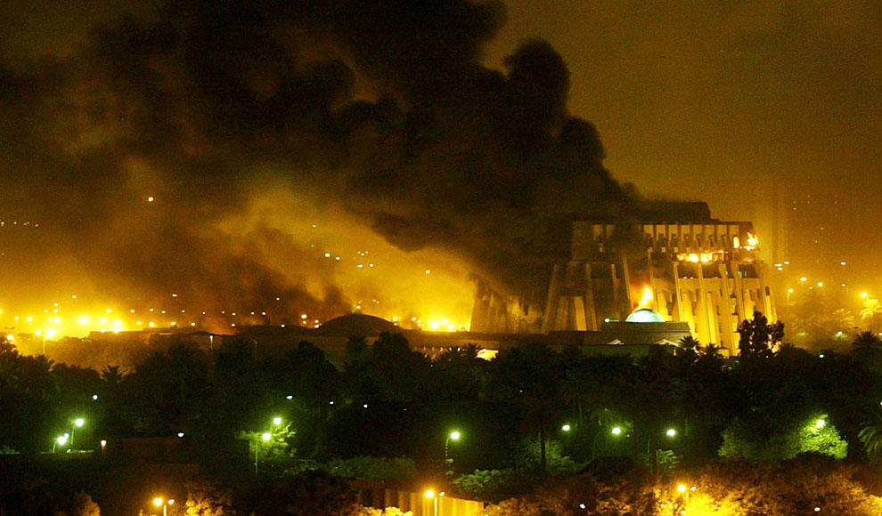 Воздушные удары по Багдаду