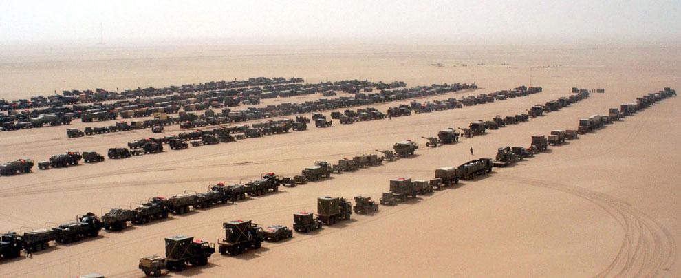 Сухопутные войска перед вторжением в Ирак