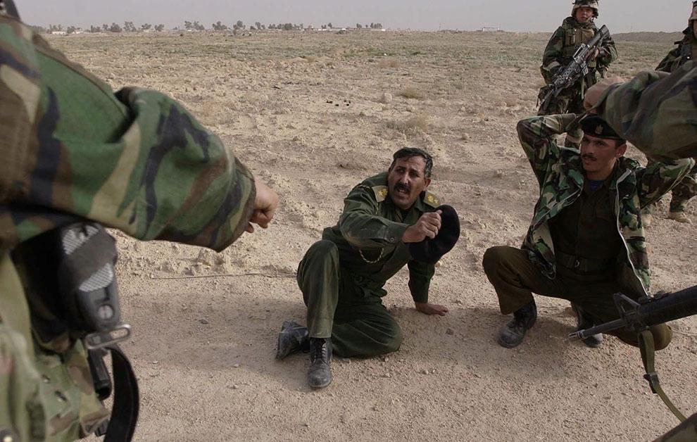 Иракские военнопленные, Ирак