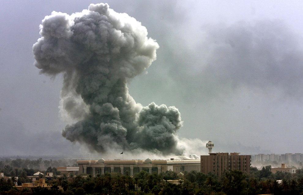 Обстрел Багдада международной коалицией