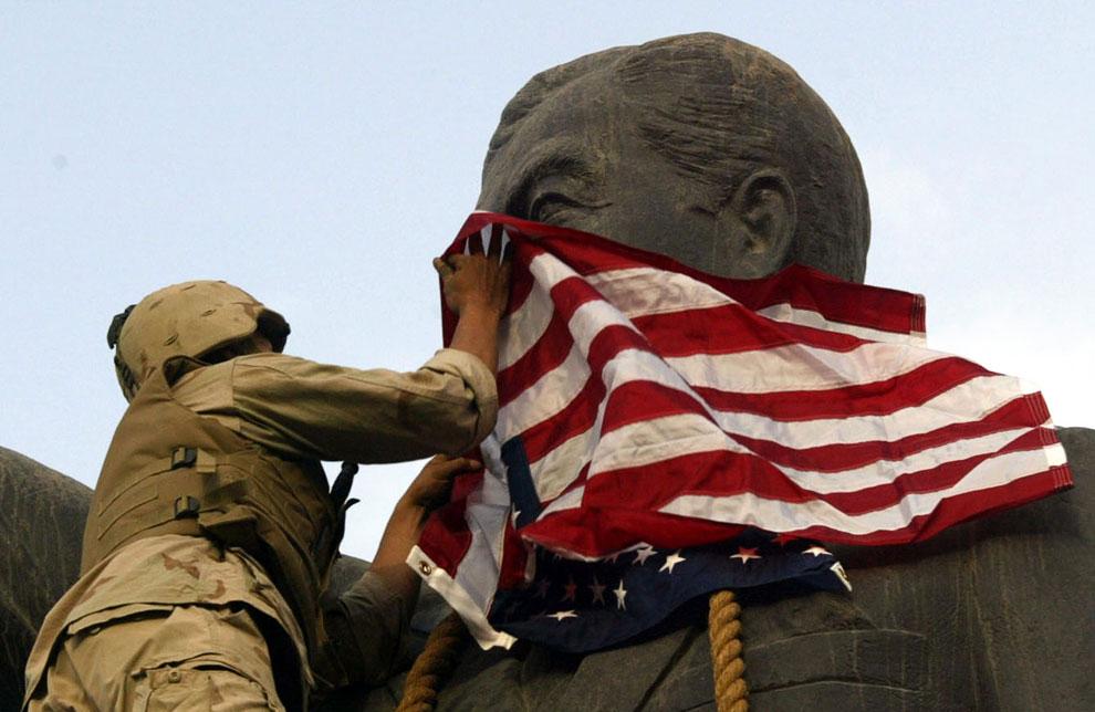 К началу апреля силы США уже находились на подступах к Багдаду