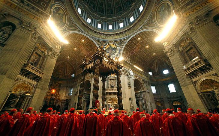 Как выбирают Папу Римского