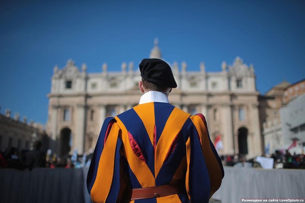 Охранник перед Ватиканом, Рим