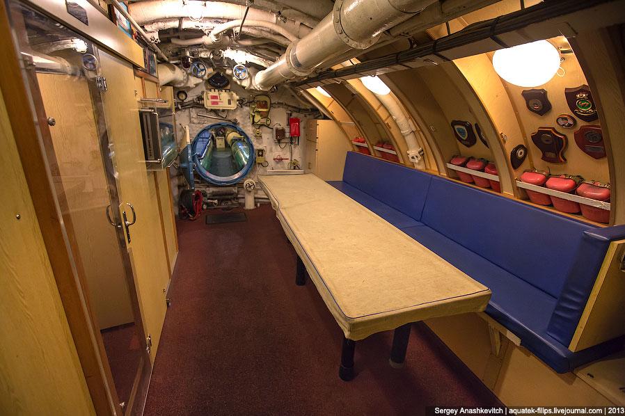 Экскурсия на подводную лодку