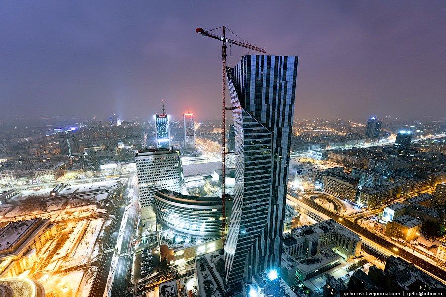 Строящийся 54-этажный небоскреб Zlota 44