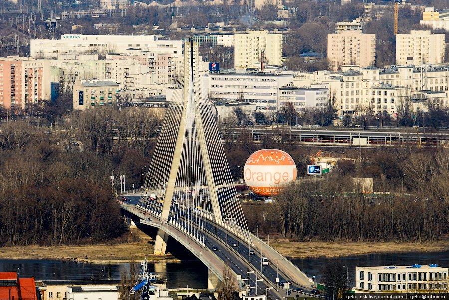 Вантовый мост через Вислу