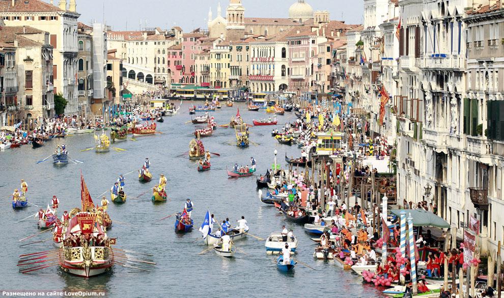 Историческая регата в Венеции